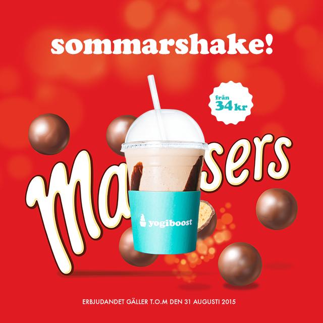 Sommarshake – Maltesers
